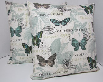Butterfly Pillow Cover Set
