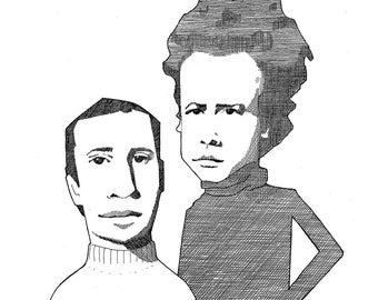 Simon & Garfunkel Portrait