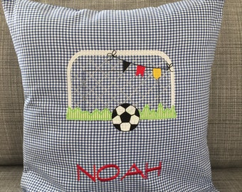 Name cushions for football fans