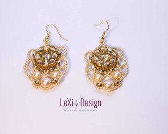 Bagliore di diamante Earrings