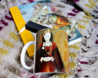 Set two mug Tudor - Anne Boleyn and Catherine of Aragon