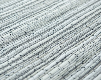 Birch Trees in Grey for Blank Quilting by the Fat Quarter (FQ)