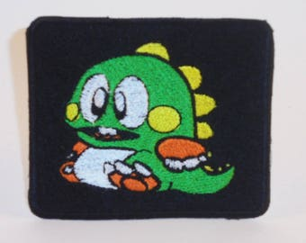 Bubble Bobble custom embroidered patch