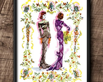 1939 · Instant Download · Fashion · Illustration · Vintage · Paris · Printable #134
