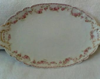 C H Field Haviland Limonges France Platter