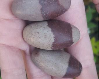 Shiva Lingam Stones - Set of 3