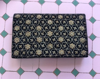 Beautiful Hand Stitched Vintage Clutch