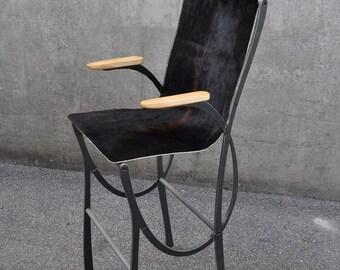 High Chair Ribbon   Steel-skin-inox