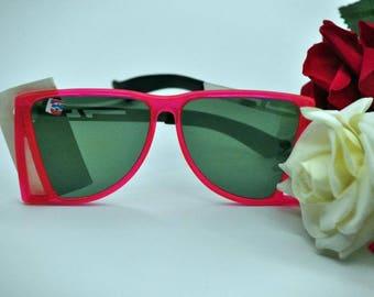 Sunglasses Old Eyewear Women's sunglasses Sunglasses For her Red Sunglasses  Retro sunglasses 80s sunglasses Soviet glasses
