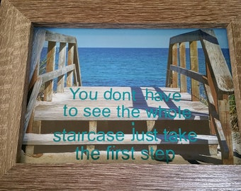 Juno beach photo with quote