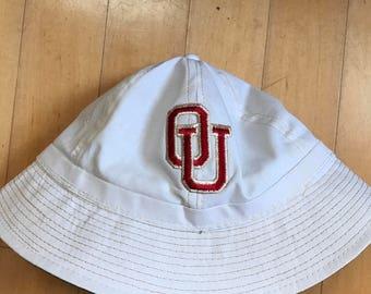 BUCKET HAT: Oklahoma Sooners Vintage bucket hat