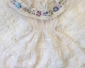 Flower Boho Dress