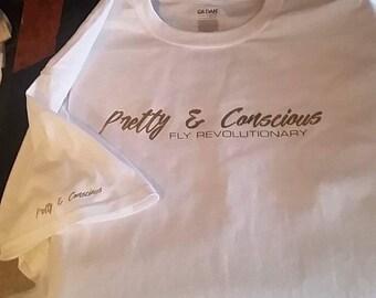 Pretty & Conscious Signature Tees
