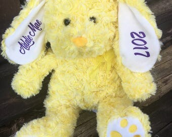 Personalized Easter Bunny,  Personalized easter gift, Easter bunny, Easter rabbit, Stuffed bunny, Stuffed animal, Personalized, Rabbit,