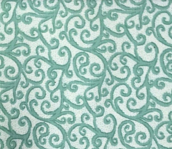 Sunbrella Indoor Outdoor Fabric By The Yard Scroll Green