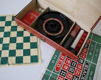 Vintage Travel Game Set