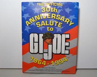 GI Joe Action Figures by Hasbro Collector Book - Vincent Santelmo - 1964 to 1994 - Anniversary Salute - Collectibles