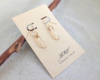 Swarovski crystal, elegant earrings