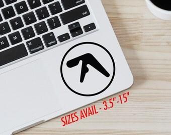 Aphex Twins logo Vinyl Decal