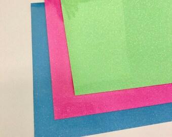 Siser Glitter HTV Vinyl 12x20 3 Pack