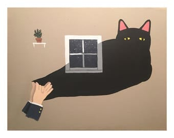 Shadow Puppets- print