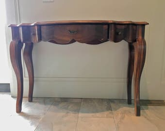 Exotic Wood Hall Table