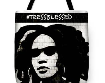 Tress Blessed Tote Bag