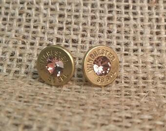 Winchester 38 Special Bullet Earrings