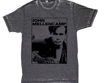 John cougar mellencamp band tee