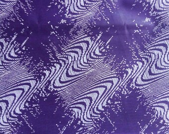Fabric wax cotton