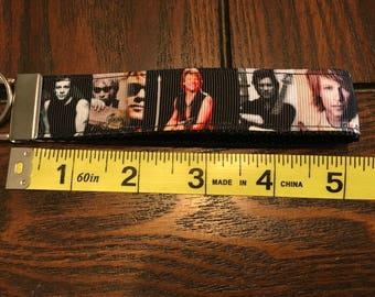 Jon Bon Jovi Fob/Chain Wristlet