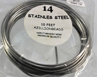 14G. Stainless Steel Wire