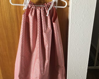 Pillow case dress girls sizes 4-8 free shipping in US