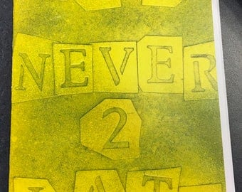 It's Never Too Late Zine