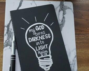 Psalm 16:28 Bible Verse Journal / Prayer Journal / Bible Journal / Notebook / Prayer Notebook