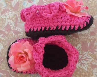 Handmade baby girl shoes,Crochet baby shoes,gift for the little girl Princess,crochet Item.