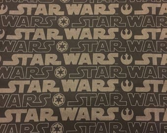 Star wars fabric chewbacca hans solo skywalker yoda material by the yard