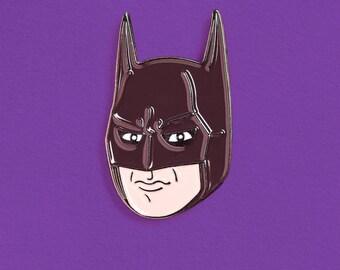 Michael Keaton Batman Enamel Pin