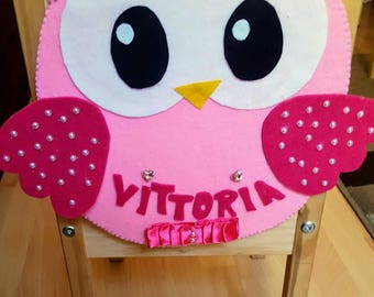 Accessory pockets for OWL nursery