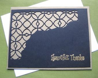 Handmade Thank You Cards - Heartfelt Thanks