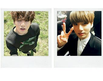 BTS Jeon Jungkook Boyfriend Material Polaroid