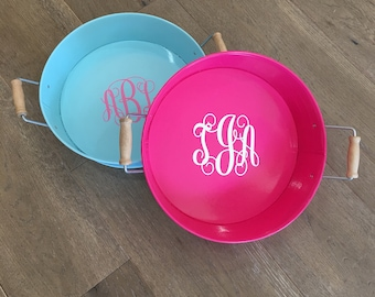 Metal Trays, Monogrammed Tray,Personalized Tray, Custom Tray, Monogrammed Serving Tray