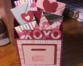 Valentine Mailbox boxcard