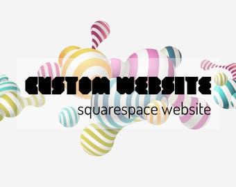 Custom SQUARESPACE Website, Custom SQUARESPACE Website Design, Custom SQUARESPACE Web Design, Photography Website, Wedding Website