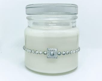 Soy Candles handmade, jar candles, fancy candles, Clean Cotton, scented candle, scented soy candle, candle scents, candles, soy candles