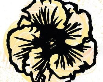Hibiscus Print 09