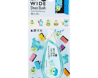 Deco Rush Wide Monsters Inc Decoration Tape For Kawaii Planners