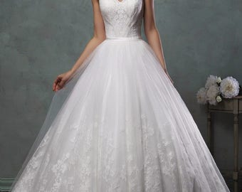 A-Line Vintage Wedding Dress