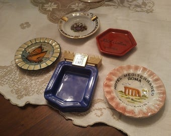 Collectable ashtrays 1960-1970