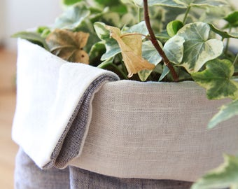 100 % Linen plant bags - Custom sizing